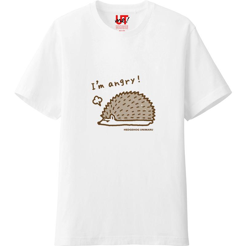 ハリネズミTシャツ イラストバージョン